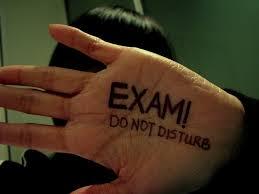Exam-do not disturb