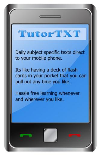 TutorTXT phone logo